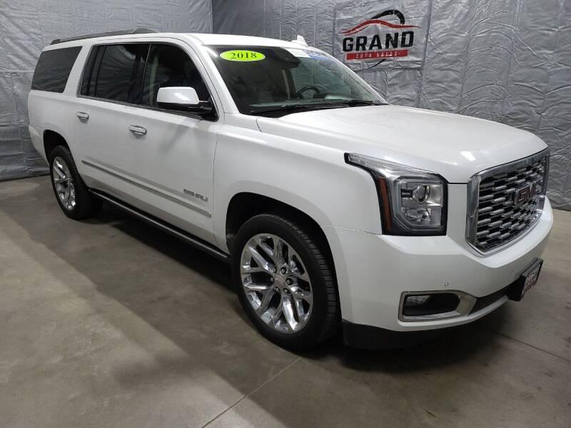 2018 GMC Yukon XL for sale at GRAND AUTO SALES in Grand Island NE