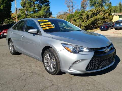 2017 Toyota Camry for sale at CAR CITY SALES in La Crescenta CA