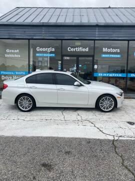 2014 BMW 3 Series for sale at Georgia Certified Motors in Stockbridge GA