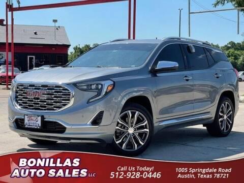 2018 GMC Terrain for sale at Bonillas Auto Sales in Austin TX
