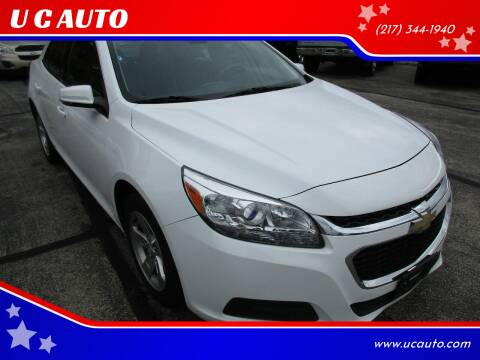 2016 Chevrolet Malibu Limited for sale at U C AUTO in Urbana IL