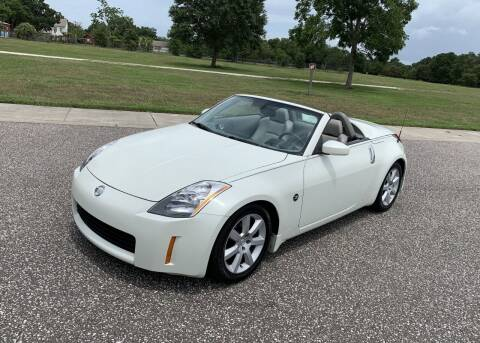 2004 Nissan 350Z for sale at P J'S AUTO WORLD-CLASSICS in Clearwater FL