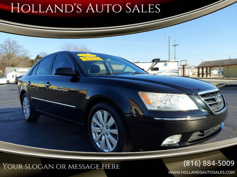 2009 Hyundai Sonata for sale at Holland's Auto Sales in Harrisonville MO