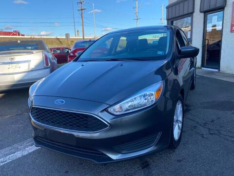2018 Ford Focus for sale at Luxury Unlimited Auto Sales Inc. in Trevose PA