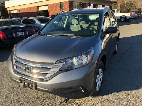 2013 Honda CR-V for sale at REGIONAL AUTO CENTER in Stafford VA