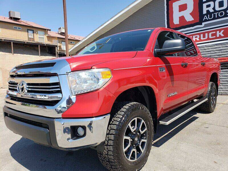 2016 Toyota Tundra for sale at Red Rock Auto Sales in Saint George UT