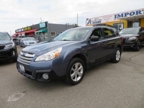 2014 Subaru Outback for sale at Import Auto World in Hayward CA