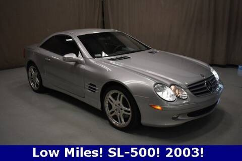 2003 Mercedes-Benz SL-Class for sale at Vorderman Imports in Fort Wayne IN