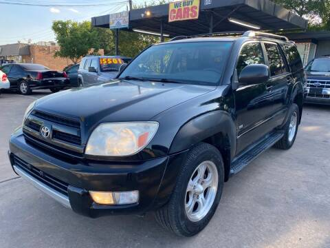 2003 Toyota 4Runner for sale at Cash Car Outlet in Mckinney TX