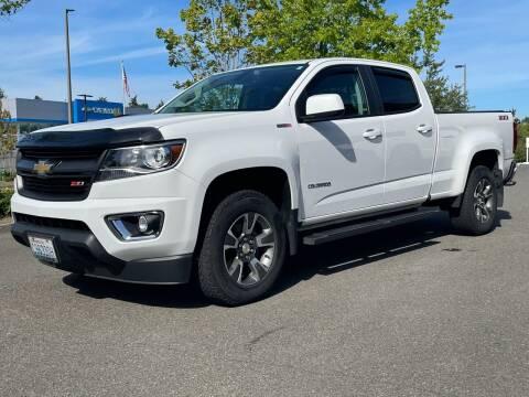2017 Chevrolet Colorado for sale at GO AUTO BROKERS in Bellevue WA