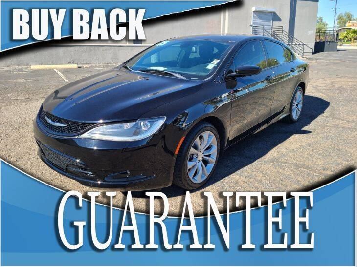2015 Chrysler 200 for sale at Reliable Auto Sales in Las Vegas NV