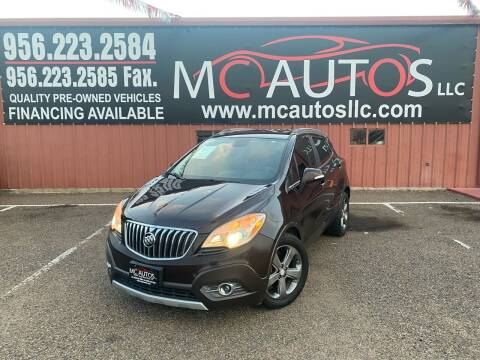 2014 Buick Encore for sale at MC Autos LLC in Pharr TX