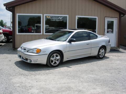2002 Pontiac Grand Am for sale at Greg Vallett Auto Sales in Steeleville IL