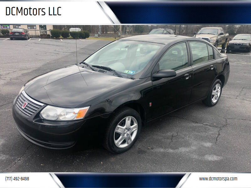 2007 Saturn Ion for sale at DCMotors LLC in Mount Joy PA