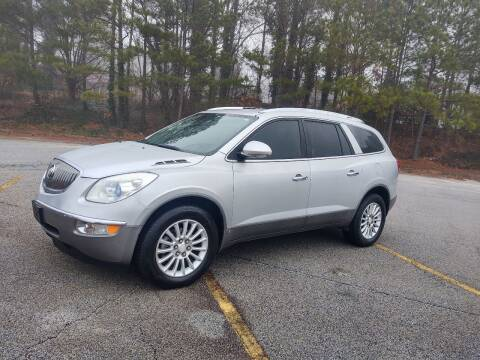 2009 Buick Enclave for sale at WIGGLES AUTO SALES INC in Mableton GA