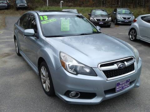 2013 Subaru Legacy for sale at Quest Auto Outlet in Chichester NH