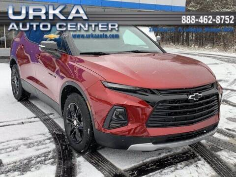 2021 Chevrolet Blazer for sale at Urka Auto Center in Ludington MI