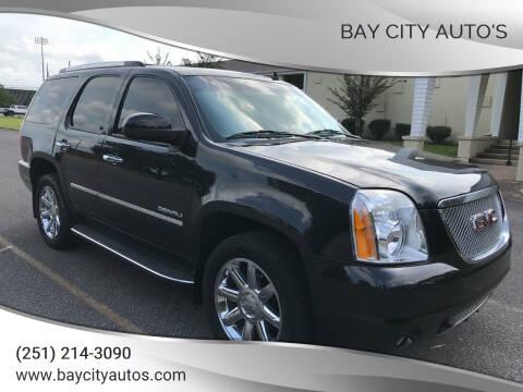 2012 GMC Yukon for sale at Bay City Auto's in Mobile AL