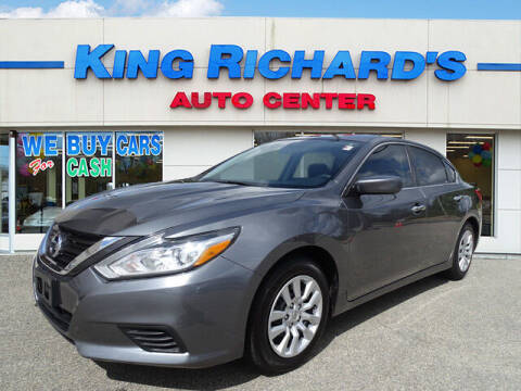 2016 Nissan Altima for sale at KING RICHARDS AUTO CENTER in East Providence RI