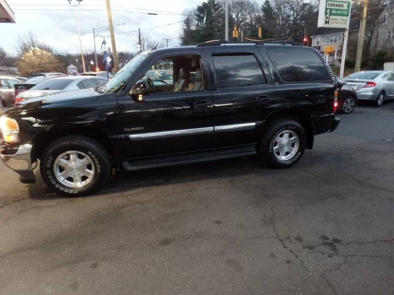 2005 GMC Yukon for sale at CAR CORNER RETAIL SALES in Manchester CT
