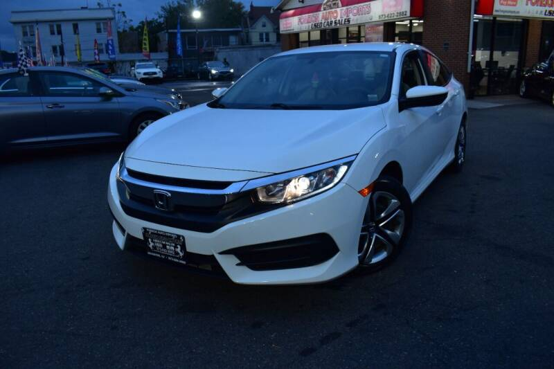 2018 Honda Civic for sale at Foreign Auto Imports in Irvington NJ
