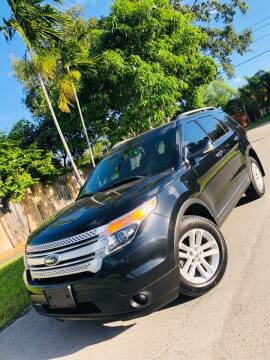 2013 Ford Explorer for sale at IRON CARS in Hollywood FL