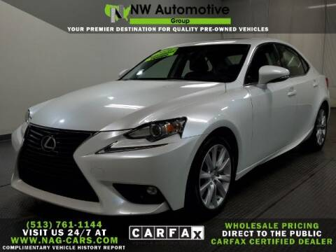 2016 Lexus IS 200t for sale at NW Automotive Group in Cincinnati OH