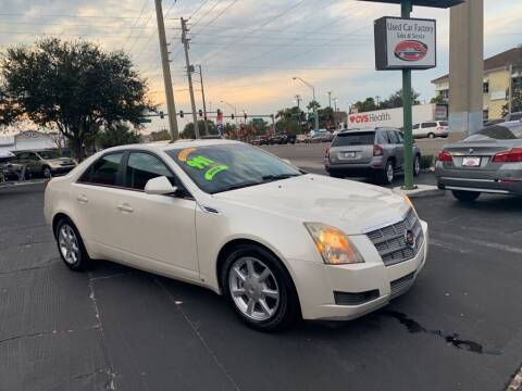 2009 Cadillac CTS for sale at Used Car Factory Sales & Service in Bradenton FL