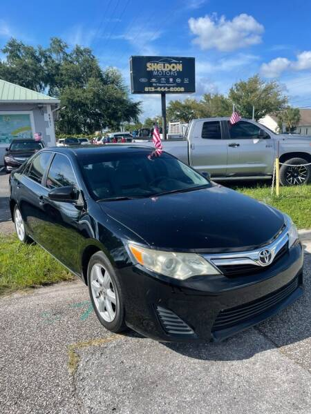 2012 Toyota Camry for sale at Sheldon Motors in Tampa FL