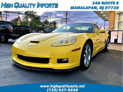 2008 Chevrolet Corvette for sale at High Quality Imports in Manalapan NJ