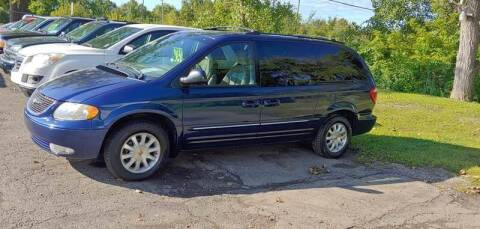 2002 Chrysler Town and Country for sale at Superior Motors in Mount Morris MI