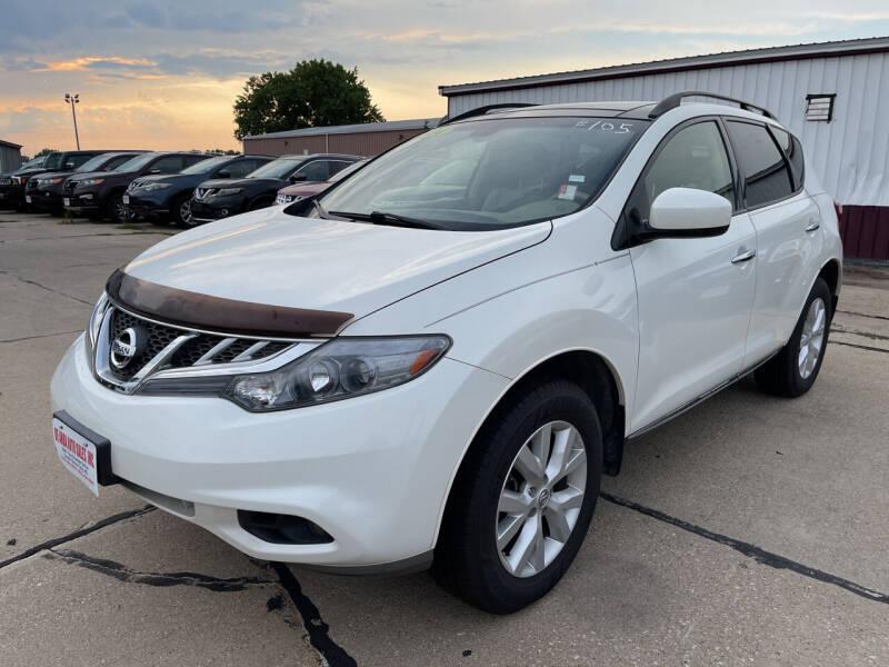 2014 Nissan Murano for sale at De Anda Auto Sales in South Sioux City NE
