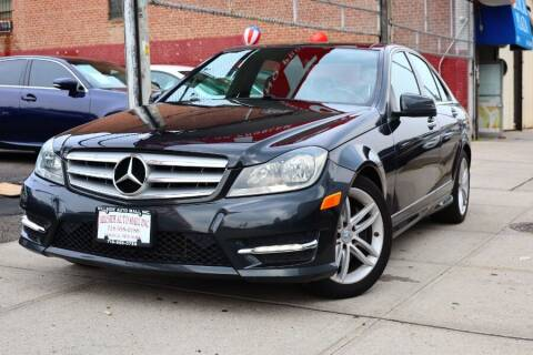 2013 Mercedes-Benz C-Class for sale at HILLSIDE AUTO MALL INC in Jamaica NY