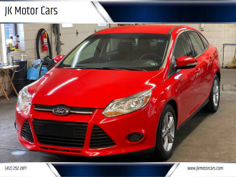 2013 Ford Focus for sale at JK Motor Cars in Pittsburgh PA