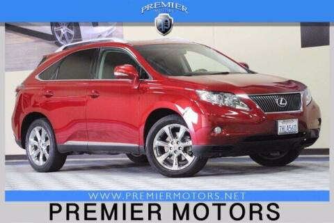 2010 Lexus RX 350 for sale at Premier Motors in Hayward CA