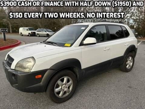 2005 Hyundai Tucson for sale at MJ AUTO BROKER in Alpharetta GA