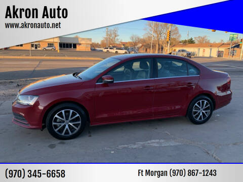 2017 Volkswagen Jetta for sale at Akron Auto in Akron CO