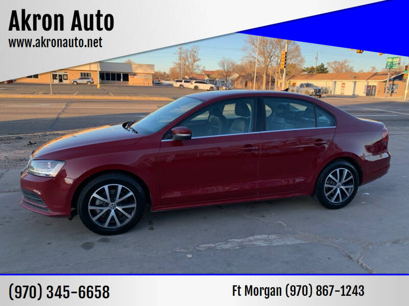 2017 Volkswagen Jetta for sale at Akron Auto - Fort Morgan in Fort Morgan CO