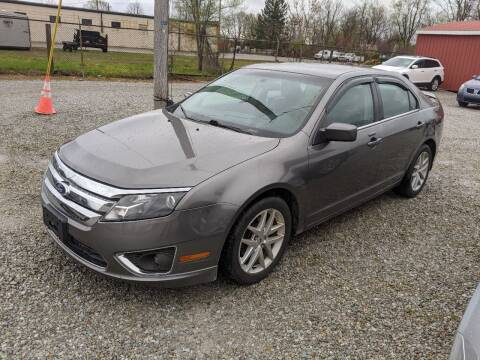 2010 Ford Fusion for sale at MIKE'S CYCLE & AUTO in Connersville IN