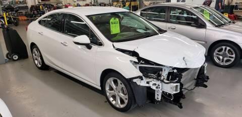 2017 Chevrolet Cruze for sale at Adams Enterprises in Knightstown IN