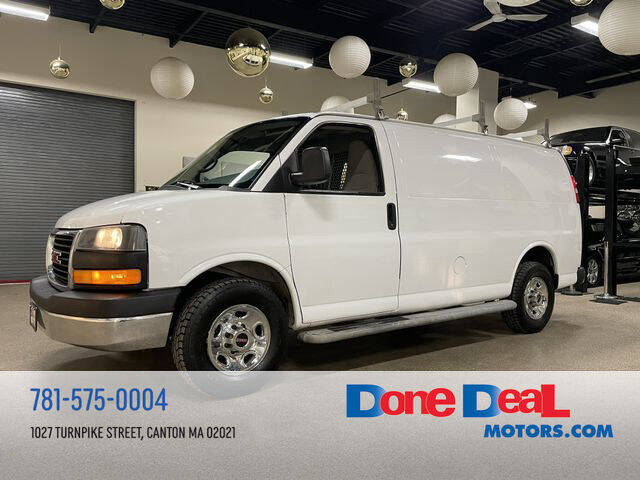 2014 GMC Savana Cargo for sale at DONE DEAL MOTORS in Canton MA