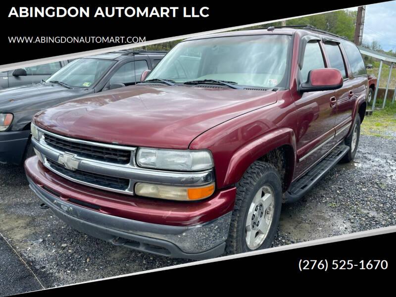 2003 Chevrolet Suburban for sale at ABINGDON AUTOMART LLC in Abingdon VA
