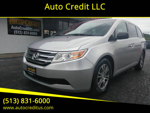 2011 Honda Odyssey for sale at Auto Credit LLC in Milford OH