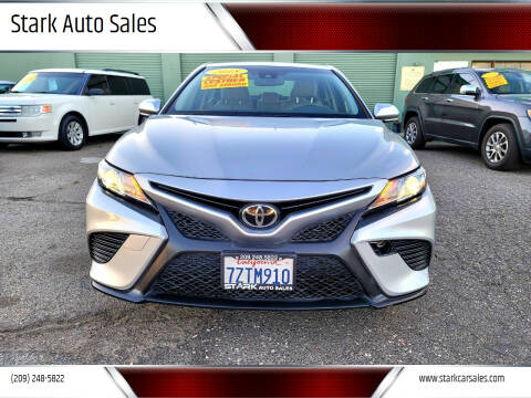 2018 Toyota Camry for sale at Stark Auto Sales in Modesto CA