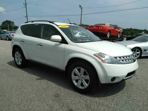 2007 Nissan Murano for sale at Kelly & Kelly Supermarket of Cars in Fayetteville NC