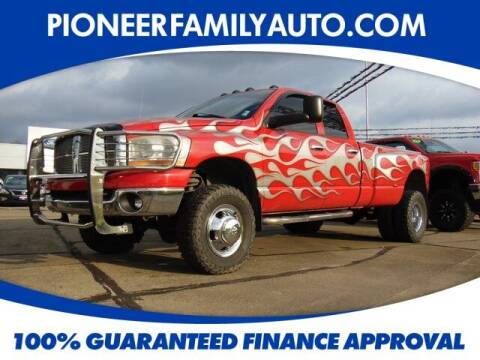 2006 Dodge Ram Pickup 3500 for sale at Pioneer Family Preowned Autos in Williamstown WV