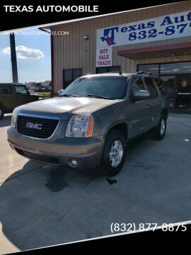 2007 GMC Yukon for sale at TEXAS AUTOMOBILE in Houston TX