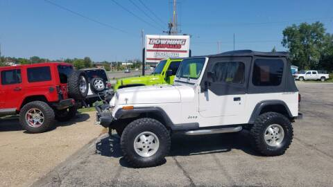 1995 Jeep Wrangler for sale at Downing Auto Sales in Des Moines IA
