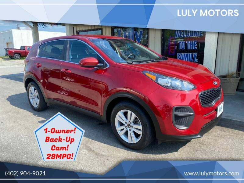 2017 Kia Sportage for sale at Luly Motors in Lincoln NE