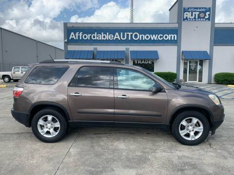 2011 GMC Acadia for sale at Affordable Autos in Houma LA